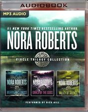 Nora Roberts Circle Trilogy Collection Dick Hill 3...