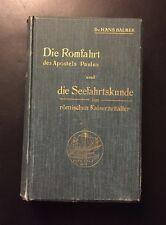 Hans Balmer-la Romfahrt des Apostels Paulus e la navigazione marittima cliente 1905...