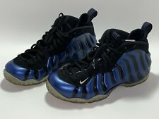 Nike Air Foamposite One Sharpie Sneakers Shoes Royal Blue Black Size 9 Mens