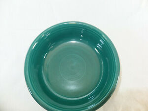 Fiestaware medium soup cereal bowl retired color  evergreen or juniper