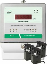 DAE P254-200 KIT, UL kWh Smart Submeter, 3P4W, 200A, 120/208v, 3 Split CT, RS485