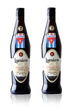 2 bottiglie  Rum Rhum Ron   Legendario Elixir 7 anni - 70 cl - 34% vol.-700 ml