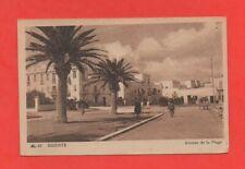 Tunisie - BIZERTE - Avenue de la plage  (J6353)