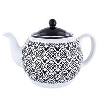 Disney Parks Mickey Icon Black Teapot New