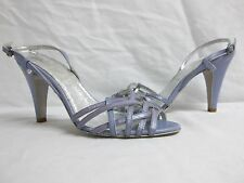 Miss Sixty EU 39 Us 8.5 M Ball Bark Leather Open Toe Heels New Womens Shoes NWOB