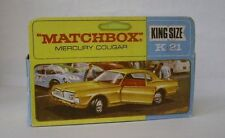 Repro Box Matchbox King Size K-21 Mercury Cougar