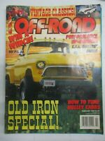 OFF-ROAD MAGAZINE FEBRUARY 1995 HOW TO HOLLEY CARBS OLD IRON SPECIAL 4X4 TRUCK