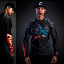 New Unworn Cukui Native Shark rash guard large