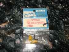 Vintage RC Parma Euro Panther Front Spindle Set Yellow 6516