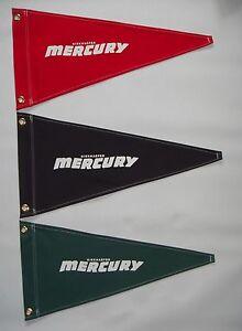 Kiekhaefer Mercury Vintage Style Outboard Motor Boat Flag Pennant Retro Nautical