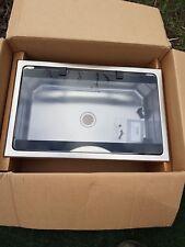 Thetford SBL1720 motorhome caravan stainless sink with glass lid