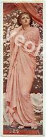 Antique or Vintage Print, Blossoms by Albert Joseph Moore, from Old Scrapbook