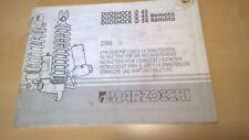 Marzocchi Federbein Duoschock Remoto  Wartungsanleitung #11#