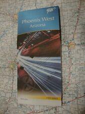 AAA PHOENIX WEST ARIZONA Travel Road Map Vacation Roadmap 2017-2020 FREE SHIP!