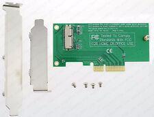 Apple A1466 A1465 A1398 A1502 mSATA SSD To PCI-E express 4X carte adaptateur D94