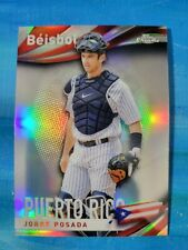 2021 Topps Chrome Beisbol #9 Jorge Posada Yankees