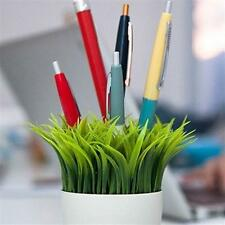 Kikkerland Grass Pen Stand SC24 Potted Holder Desk Organizer