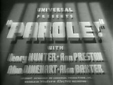 PAROLE! (1936) DVD HENRY HUNTER, ANN PRESTON