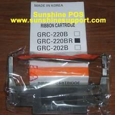 Bixolon Samsung GRC-220BR RRC-201BR Black Red Ribbon Cartridge SRP-270 SRP-275II
