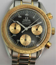 OMEGA SPEEDMASTER REDUCED Cal. 1140, VINTAGE, AUTOMATIC, Stahl/Gold, Box Papiere