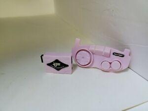NEW PINK HEADPHONE EARPHONE ADAPTER & ARCADE STICK FOR GAMEBOY ADVANCE SP  #U9