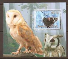 Djiboutian Owls Postal Stamps