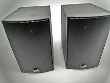 PSB Black Alpha Intro LR Bookshelf/Surround Speakers-PAIR