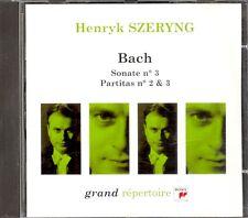 BACH - Violin Partitas 2 & 3 / Violin Sonata 3 - Henryk SZERYNG - Sony