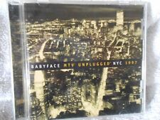BABYFACE MTV UNPLUGGED NYC CD 1997 From SONY MUSIC Entertainment   cd151