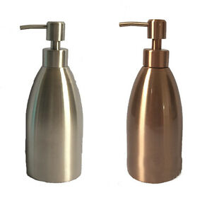 500ml Stainless Steel Standing Soap Liquid Lotion Dispenser for Bath Hotel