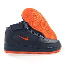 new style 95dcd a0bab Nike Air Force 1 Mid Retro PRM QS NYC Finest Navy Blue AO1639-400 Men s