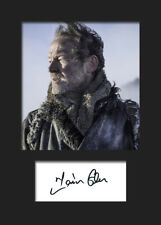 GAME OF THRONES - JORAH MORMONT (Iain Glen) #3 A5 Signed Mounted Photo Print
