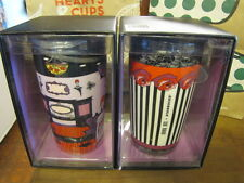 NIB 2015 Starbucks Designer Collection Anna Sui Boutique Roses Tumbler Mug Set