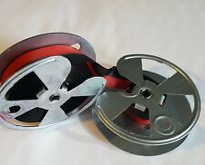 Royal Maxim 10 Typewriter Ribbon on Metal Spools - Red and Black Ribbon