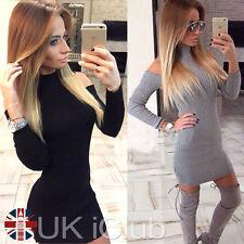 Cotton Blend Cowl Neck Plus Size Dresses for Women