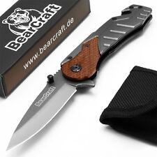 BearCraft Klappmesser | Survival Taschenmesser | Outdoor Messer | Einhandmesser