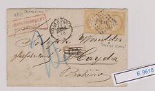 (E9618) Interessanter Brief von 1873 Mehrfachfrankatur   SELTEN