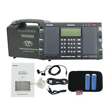 For Tecsun H-501 Dual-Speaker DSP SSB Full Band Radio Music Player Bluetooth