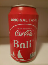 Coca Cola Can Holland 2017 330ml empty Destination: Bali