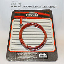Competition 'T' Handle Pull Cables - 1.5m - Red - (GE60R)