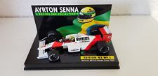 Minichamps 1:43 a. senna Collection nr 01 mclaren mp 4/4 World Champion 1988