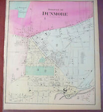 1873 map Dunmore, PA