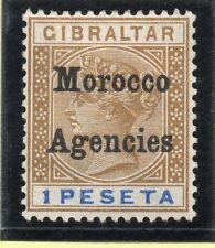 Pre-Decimal Edward VII (1902-1910) Morocco Agencies Stamps