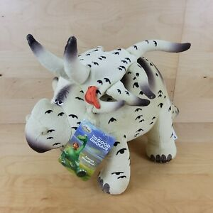 DISNEY STORE EXCLUSIVE FOREST WOODBUSH THE GOOD DINOSAUR SOFT TOY PLUSH