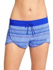 NWT Athleta Veracruz Stripe Petal Short, Caspian Blue, SMALL (S) Beach, RARE $54