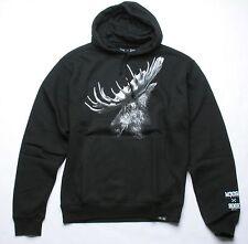 Rook Moose X Rook Hooded Fleece Hoody (M) Black