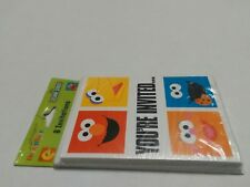 SESAME STREET INVITATIONS (8) ~ Birthday Party Supplies Stationery Cards Notes