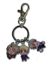 **License** Hetalia World Series Metal Keychain America England & Russia #36617