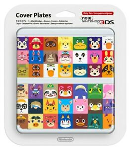 Nintendo Cover Plate Kisekae plate No.068 (Animal Crossing) for 3DS