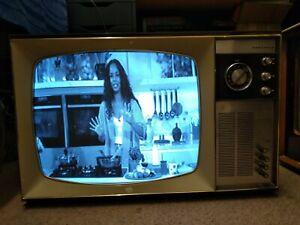 Vintage Television - Ferguson black & white Retro Television